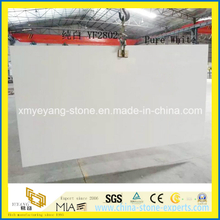 Super White Quartz (Caesar stone) Countertops Slab