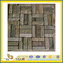 Slate Mosaic for Wall and Flooring Decoration (YQA-S1064)