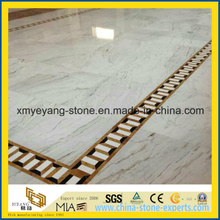 Castro White Marble Floor Covering for Interior Building Material