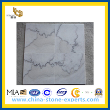 Polished Guangxi White Marble for Slabs, Tile, Countertop(YQC)