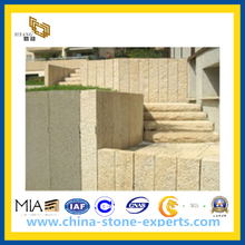 G682 Yellow Granite Palisade with Competitive Price (YQW-YG0101)