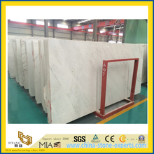 Chinese Castro White Marble Slab for Wall and Flooring