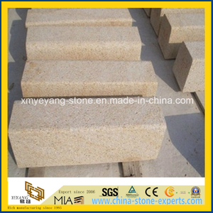 G682 Rusty Yellow Granite Curbstone for Walkway or Driveway