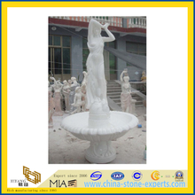 Marble Modern Art Stone Sculpture for Outdoor Garden(YQC)