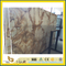 Polished Retro Roma Fantasy Marble Slab for Book-Matched