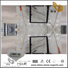 Quality Arabescato Venato White Marble for Kitchen Countertop with Cheap Cost(YQW-MSA070609)