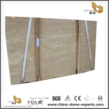 Beige Natural Stone Ivory White Travertine Slab