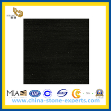 Discount Price China Black Marble Slab for Tombstone, Fireplace, Paving(YQC)