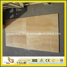 Yellow Honey Onyx Floor Tile for Hotel Decoration