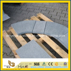 G654 Padang Dark Granite Flamed Swimming Pool Coping Tile
