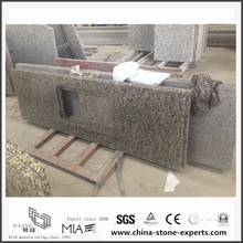 Cheap Bianco Taupe Granite Countertops for Kitchen (YQW-GC0524015)