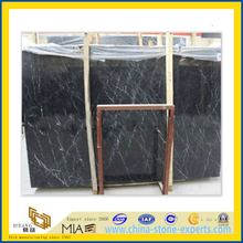 Black Marquina Marble/Nero Marquina Black Marble Slabs(YQG-MS1013)