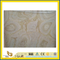 Natural Polished Italy Teak Wood Marble Tile for Wall/Flooring (YQC)