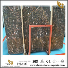 High Polished Euronet Mine Black Marble Tiles Wholesale