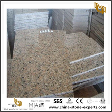 Sanbao Red Granite Tiles Stone Countertop Project