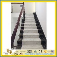 China Polished Castro White Marble for Steps & Stairs (YQW)