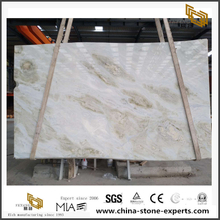 Changbai White And Blue Jade Marble Slabs Quality
