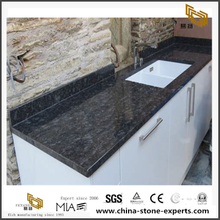 Steel Gray Granite For Kitchen Polished Countertop