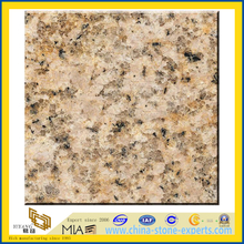 Polished Yellow Sunset Gold G682 Granite (YQZ-G1031)