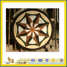 Marble Stone Floor Waterjet Medallion for Indoor Decoration