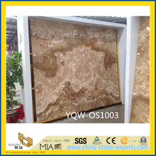 Yellow Onyx Stone Slab for Background with Best Prices (YQW-OS1003)