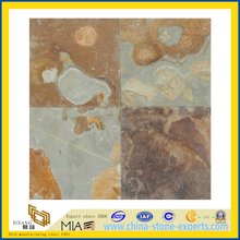 Rusty Color Honed Slate for Flooring Tile (YQA-S1056)