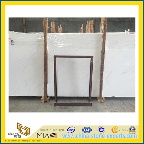 Polished Ariston White Marble Slabs for Wall Cladding (YQC)