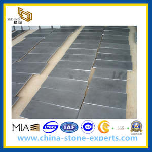 Honed Dark Grey Basalt Tiles for Floor Paving(YQG-PV1015)