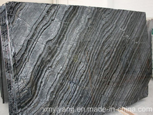 Antique Wood Grain/Forest Black/Kenya Black Marble for Slabs & Tiles (YY-VAWS)