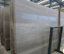 Wooden Grey Marble Slab, Grey Wood Vein Marble