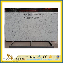 Glacier Grey Quartz Stone for Indoor Decoration
