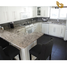 Polishing Grey Natural Stone Bianco Antico Granite Countertop Kitchen