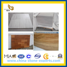 White Wooden Marble for Tile, Countertop (YQC)