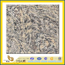 Tiger Skin Wave Yellow Granite Slabs for Countertops (YQZ-G1049)