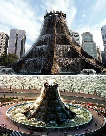 water stone fountain 05