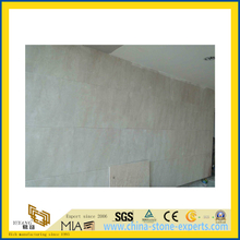 Natural Polished Angle Cream Marble Tile for Wall/Flooring (YQC)