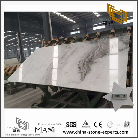 Hot Selling Artistic Arabescato Venato White Marble for Backgrounds (YQW-MSA070603)