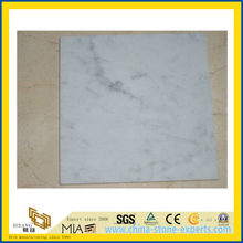 China Carrara White Mable Tile for Flooring Decoration