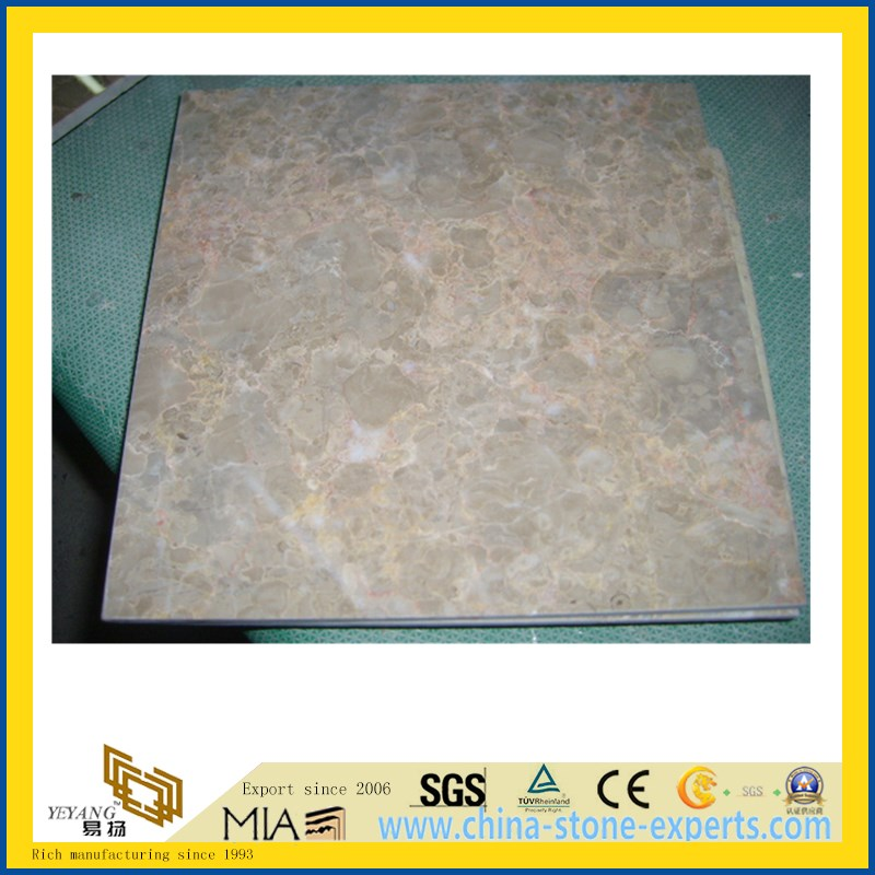 Classic Cream Marble Tile for Flooring Decoration