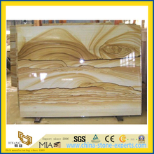 Yellow Landscape /Paint/Teak Wood Sandstone for Paving, Stairs, Decoration