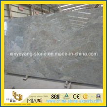 Precut Polished Sea Wave Green Granite Gangsaw Slab