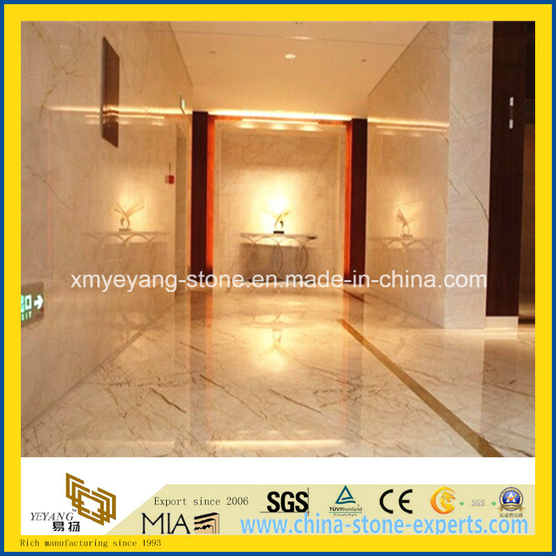 Polished Sofitel Gold Marble for Flooring or Walling