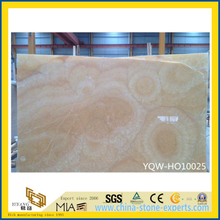 Honey Beige/Yellow/Pink Onyx Slabs for Floor, Wall, Countertops