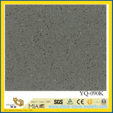 Ash Grey Engineered Dark Quartz for Countertop (yys)