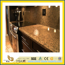 Natural Stone Polished Baltic Brown Granite Countertop for Kitchen/Bathroom (YQC)