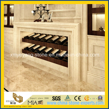 Natural Beige Marble Wall Skirting for Interior Decoration