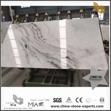 Artistic Arabescato Venato White Marble Slab for Countertop with best prices (YQW-MSA070602)