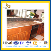 Polished Marble Table Top for Kitchen Dining(YQG-MC1011)