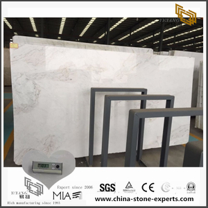 Fashion White Arabescato Venato Marble for Kitchen Background (YQW-MSA0706019)
