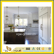 White / Black / Beige Quartz Countertop for Bathroom/ Kitchen